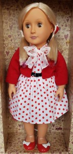 Lalka 46cm Our Generation Rose - Retro Doll
